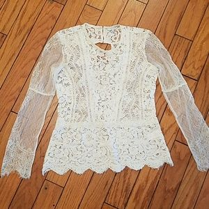 Lucky brand full lace top